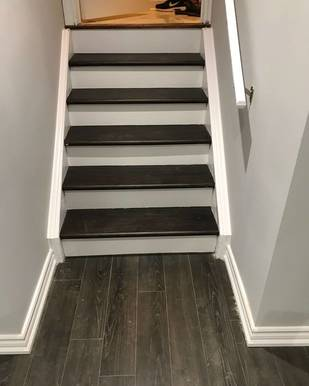 stair treads refinishing